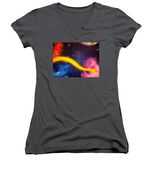 My Galaxy Too Women's V-Neck T-Shirt
