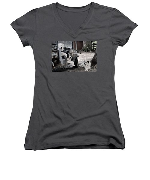 My Helpers Women's V-Neck (Athletic Fit)