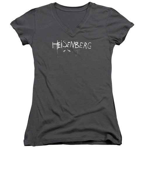 My Name Is Heisenberg - Graffiti Spray Paint Breaking Bad - Walter White - Breaking Bad - Amc Women's V-Neck