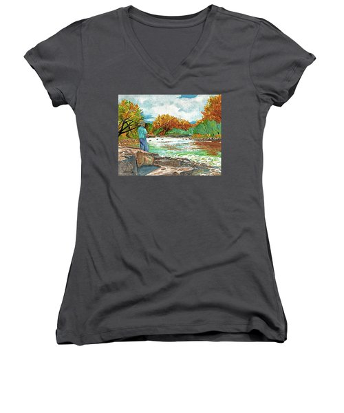 My Time Women's V-Neck (Athletic Fit)