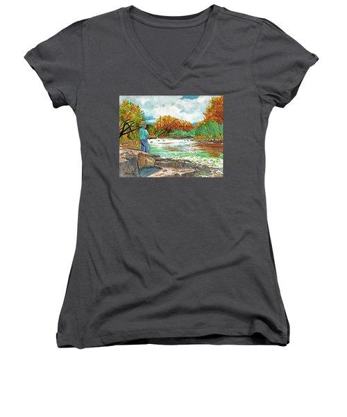 My Time Women's V-Neck T-Shirt