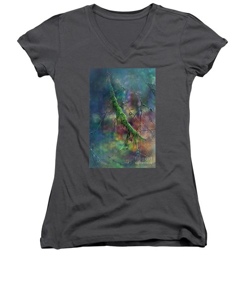Mystical Moss - Series 1/2 Women's V-Neck T-Shirt
