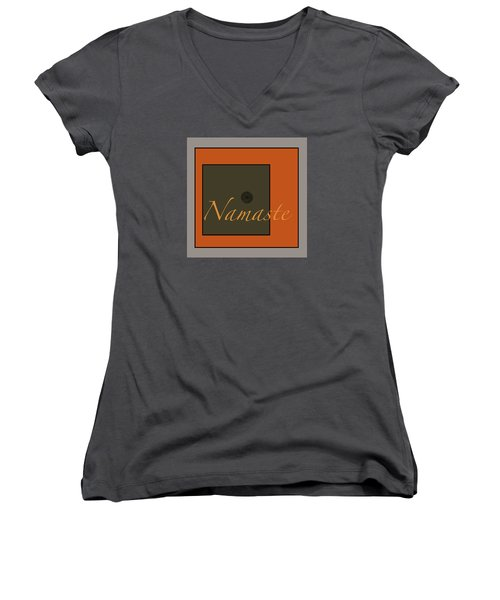 Namaste Women's V-Neck (Athletic Fit)