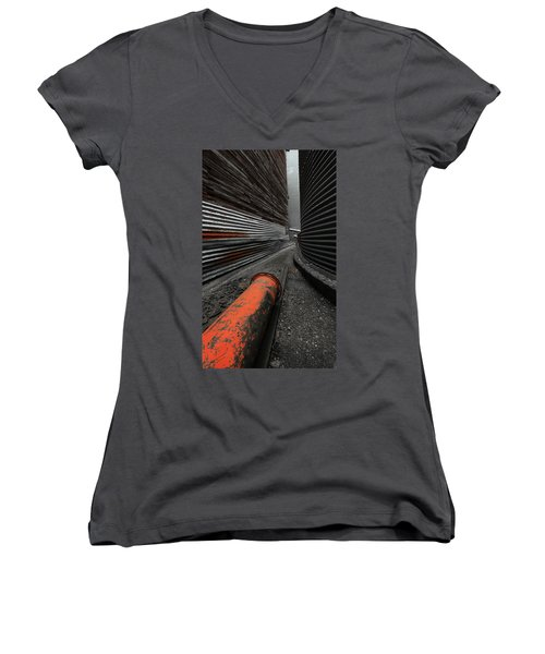 Narrow Passage Women's V-Neck T-Shirt