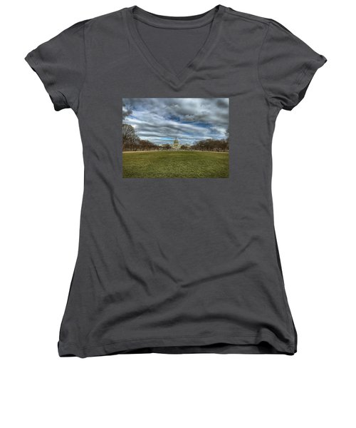 National Mall Women's V-Neck