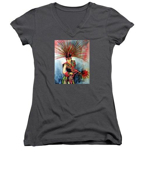 Native Dancer Women's V-Neck (Athletic Fit)