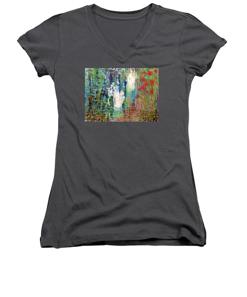 Natural Depths Women's V-Neck T-Shirt