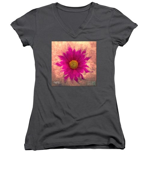 Nature Beauty Women's V-Neck