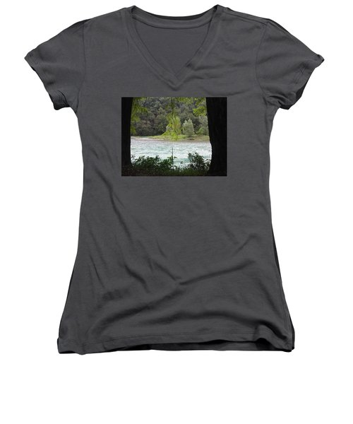 Nature On Stage Women's V-Neck (Athletic Fit)