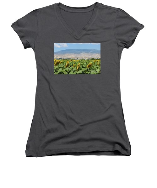 Natures Amazing Creation Women's V-Neck (Athletic Fit)