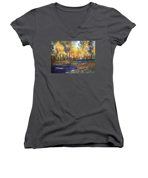 Nature's Glory Women's V-Neck (Athletic Fit)