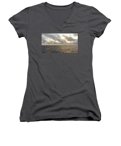 Women's V-Neck featuring the photograph Nature's Realm by Robert Knight