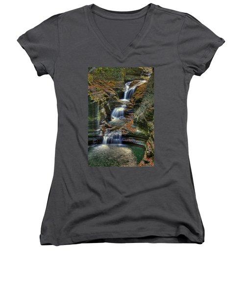 Nature's Tears Women's V-Neck T-Shirt