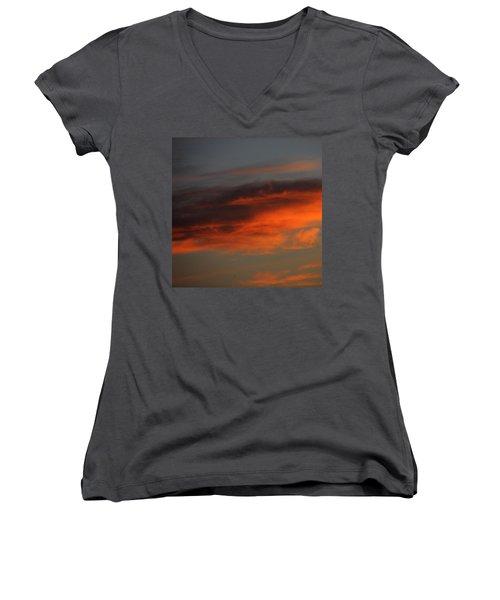Nebulae  Women's V-Neck T-Shirt
