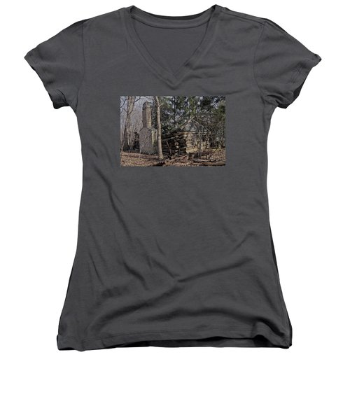 Neglected Women's V-Neck (Athletic Fit)