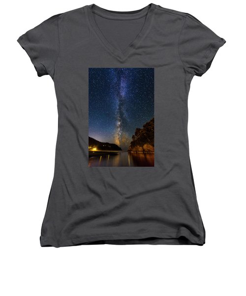 Neskowin Milky Way Women's V-Neck