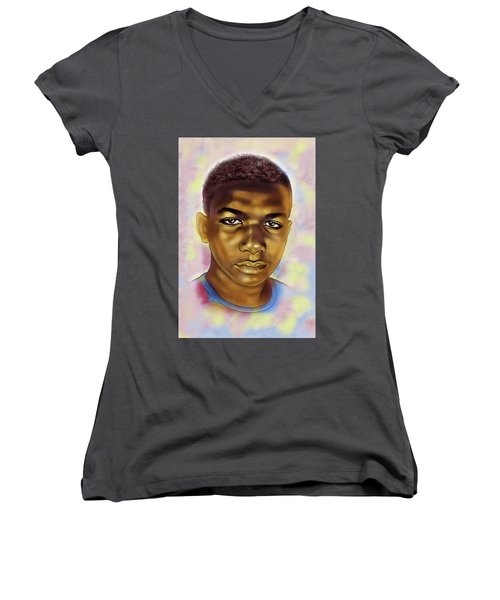 Never Forget Trayvon Women's V-Neck