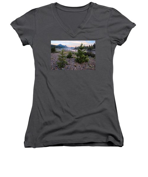 New Day Women's V-Neck T-Shirt