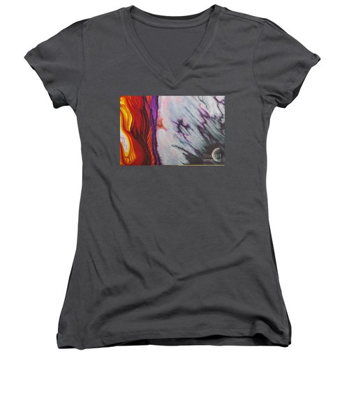 New Earth Women's V-Neck (Athletic Fit)