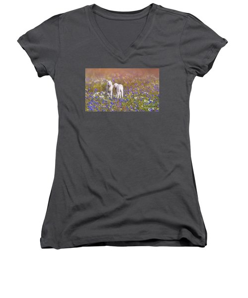 New Life Women's V-Neck (Athletic Fit)