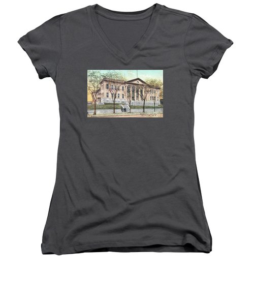 Newburgh Broadway - 03 Women's V-Neck (Athletic Fit)