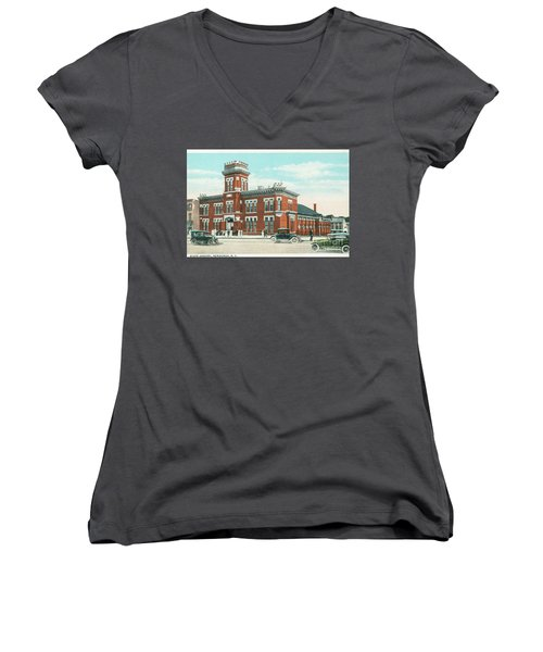 Newburgh Broadway - 06 Women's V-Neck (Athletic Fit)