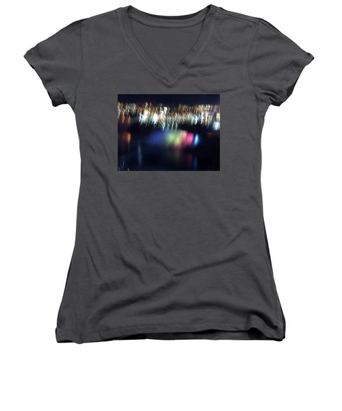 Light Paintings - Ascension Women's V-Neck (Athletic Fit)