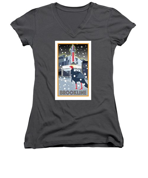 Night At The Movies Women's V-Neck