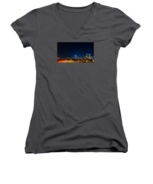 Night Drive Women's V-Neck (Athletic Fit)