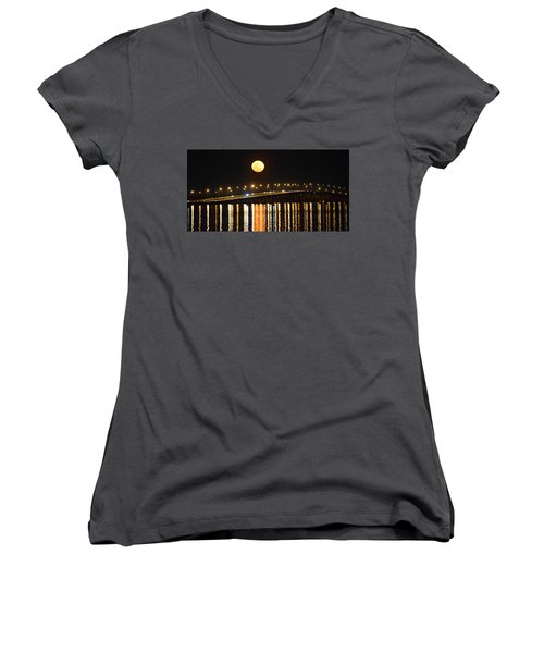 Night Of Lights Women's V-Neck (Athletic Fit)