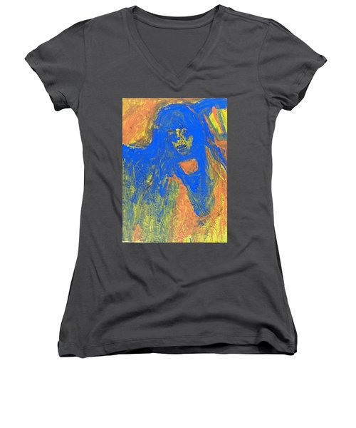 Night Terrors Women's V-Neck (Athletic Fit)