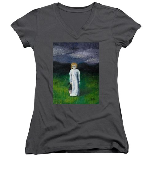 Night Walk Women's V-Neck