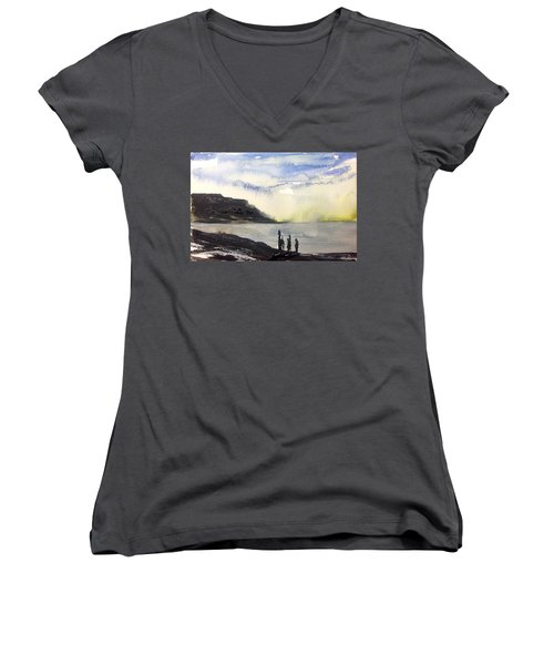 NL  Women's V-Neck T-Shirt