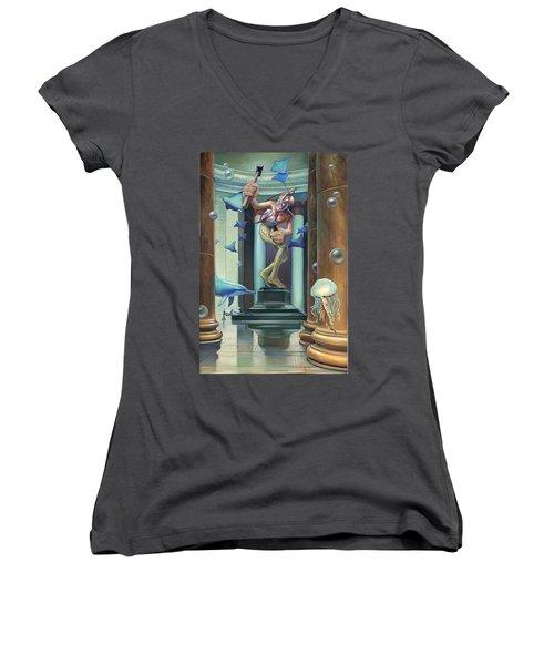 No Limit Women's V-Neck T-Shirt