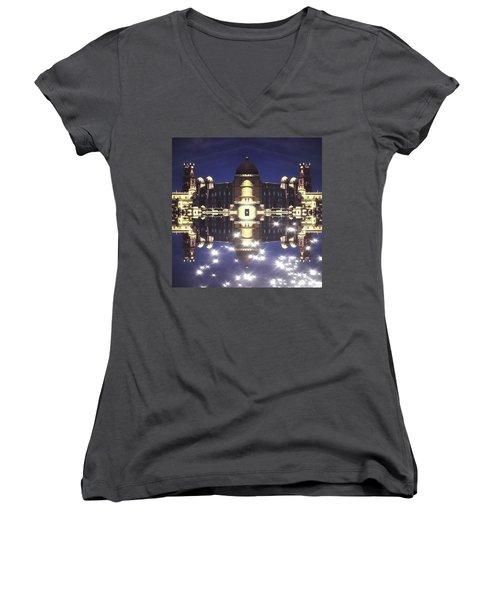 Nao Tenha Pena Women's V-Neck T-Shirt