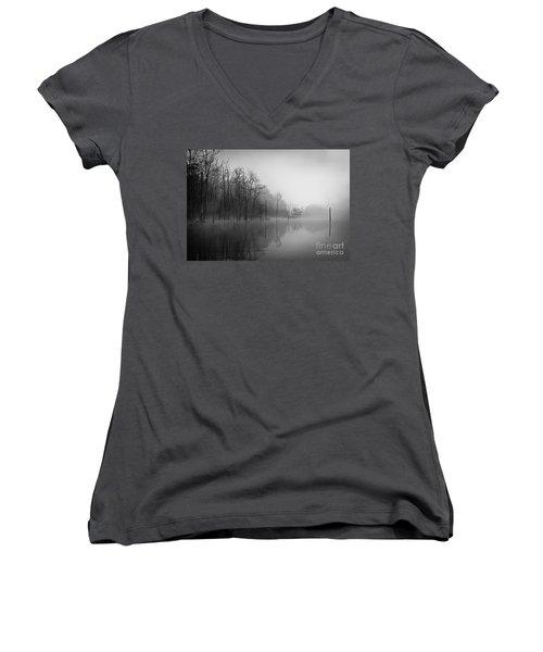 Norris Lake April 2015 3 Women's V-Neck T-Shirt