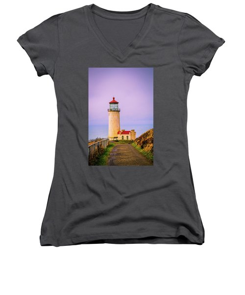 North Head Lighthouse Women's V-Neck