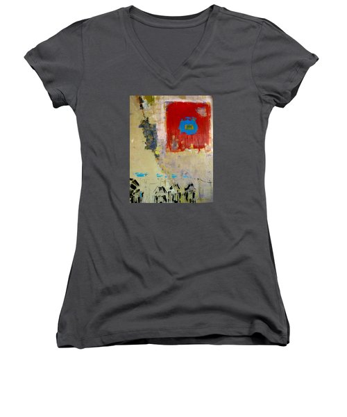 North Women's V-Neck T-Shirt