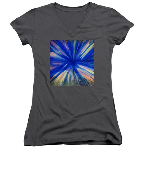 Northern Lights 3 Women's V-Neck (Athletic Fit)