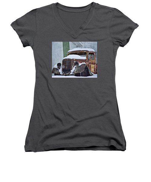 Not Moving Women's V-Neck (Athletic Fit)