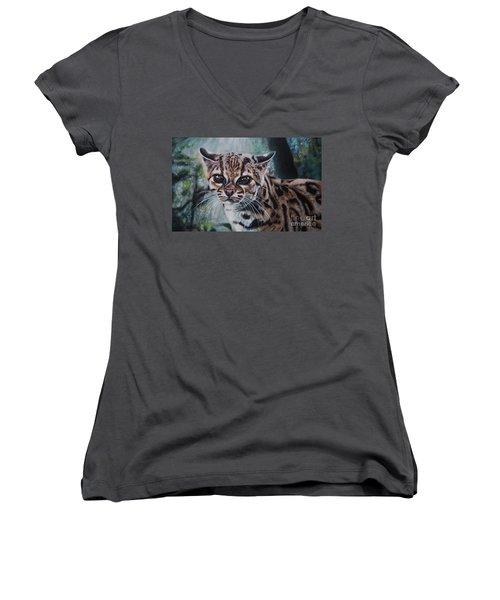Not Today Women's V-Neck T-Shirt