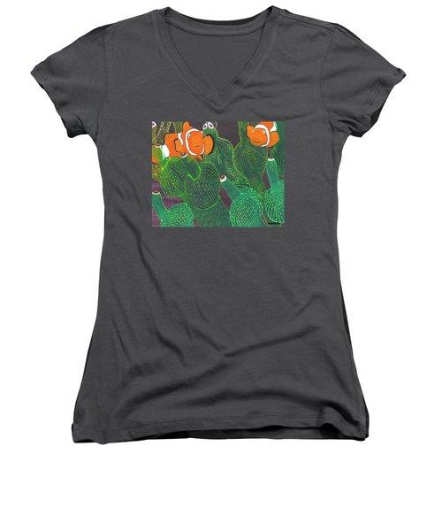 November Women's V-Neck T-Shirt