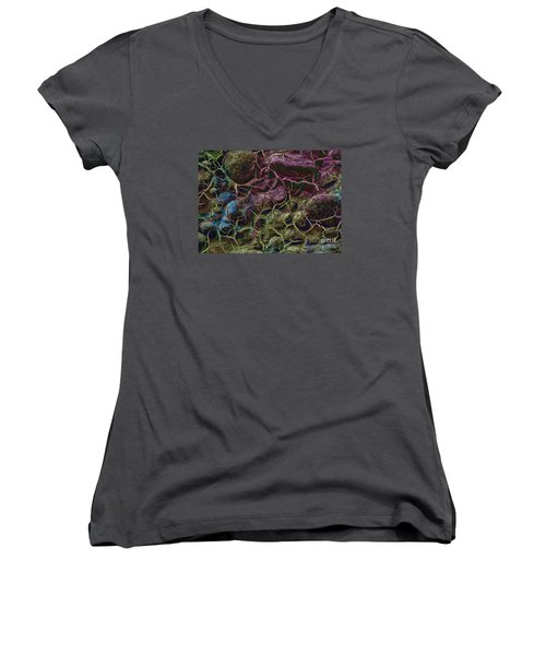 Nowhere And Anyware Women's V-Neck T-Shirt
