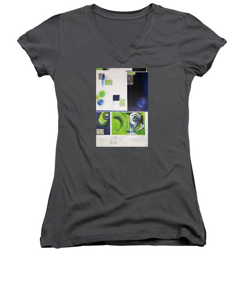 Number 12 Women's V-Neck T-Shirt