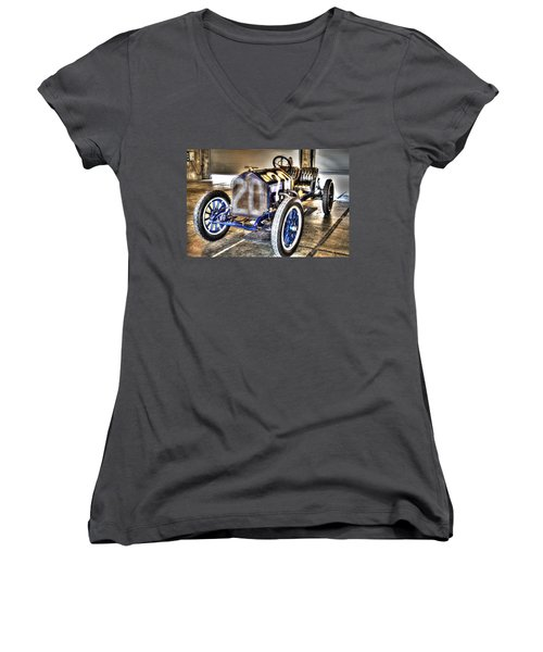 Number 20 Women's V-Neck T-Shirt (Junior Cut) by Josh Williams