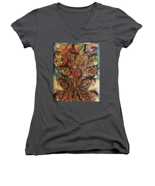 Nuts And Bolts Women's V-Neck T-Shirt