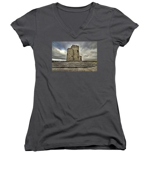 O Brien's Tower Women's V-Neck (Athletic Fit)