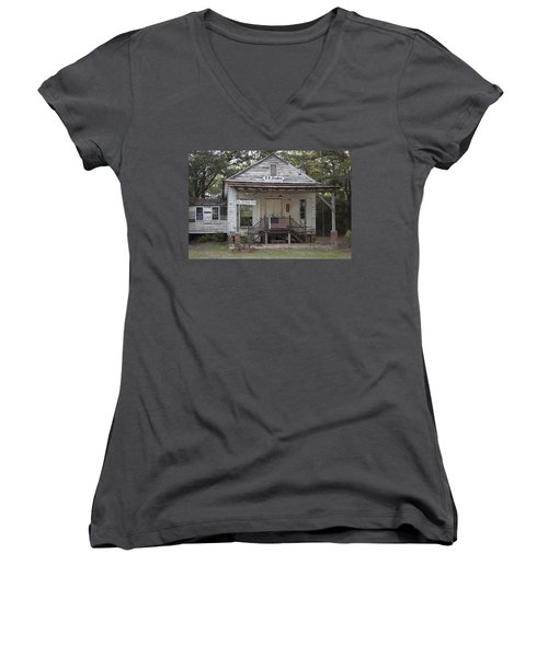 O K Zeaglers Mercantile And Post Office Women's V-Neck