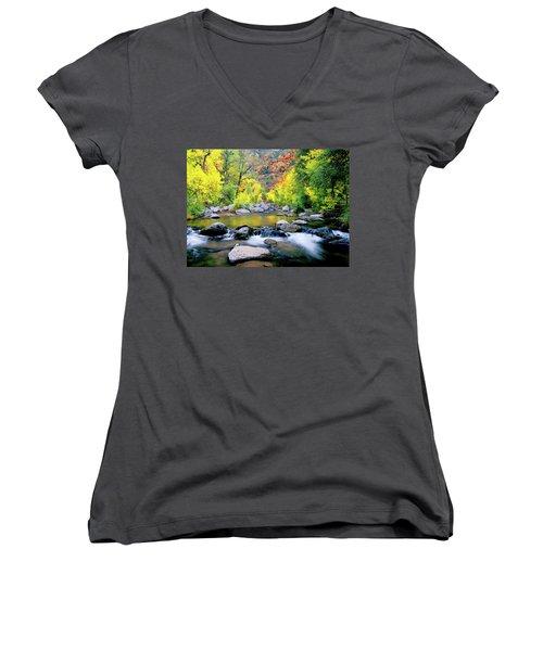 Oak Creek Canyon Women's V-Neck T-Shirt