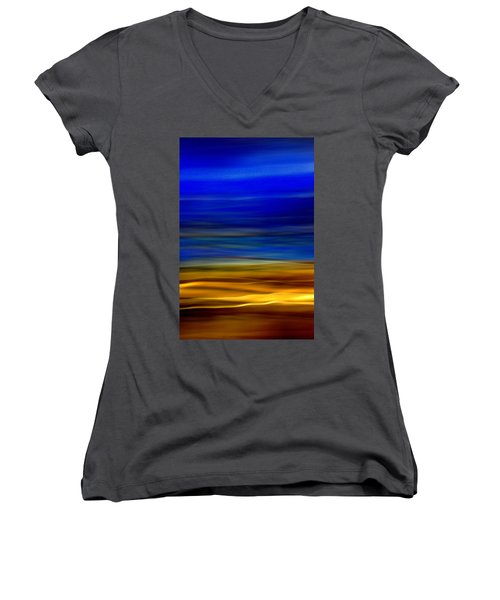 Obscure Horizons Women's V-Neck (Athletic Fit)
